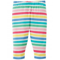 Leggings - Frugi  Libby - SS18 - Dolly Rainbow Stripe - 0-3, 3-6, , 12-18, 18-24, 2-3 , 3-4