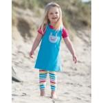 Leggings - Frugi  Libby - Rainbow Stripe - 0-3, 3-6,12-18, 18-24m and 2-3, 3-4y -sale