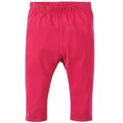 Leggings - Frugi Libby - Raspberry-  3-6m  - last one in sale