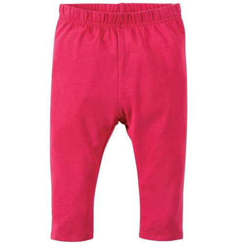 Leggings - Frugi Libby - Raspberry-  3-6m and  3-4y - sale