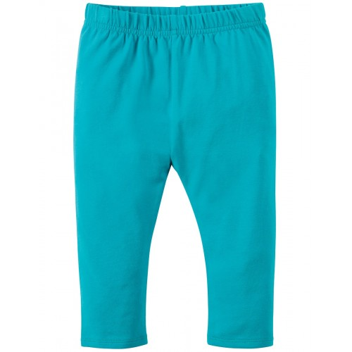 Leggings - Frugi  Libby -Turquoise  - 3-6, 6-12, 12-18, 18-24m and 2-3, 3-4y