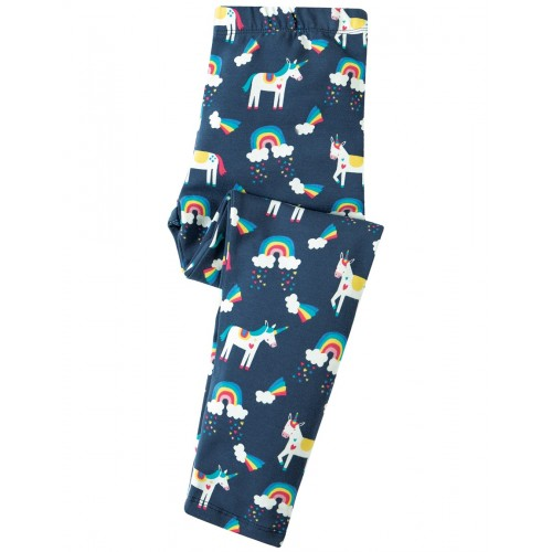 Leggings - Frugi  Libby - Magic rainbow -  9-10y  -  Note  - Frugi adjusted the pattern - no rainbow clouds as per photo) - SALE