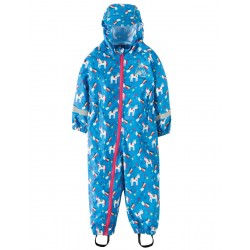 Puddle Buster Suit - Frugi - Rainbow Magic Unicorns -, 2-3y last one in sale