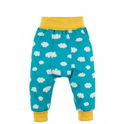 Pants - Frugi Parsnip - Summer yellow Skies and clouds 3-6, 6-12, 12-18, 18-24m and 3-4y