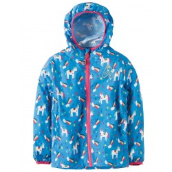 Puddle Buster - Frugi  Packaway Jacket - Rainbow Magic - 2-3, 3-4, 4-5, 5-6