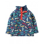 Fleece - Frugi - Snuggle Fleece - Bon Voyage - 6-12, 12-18, 18-24m - Sale