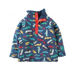 Fleece - Frugi - Snuggle Fleece - Bon Voyage - 6-12, 12-18, 18-24m - Sale