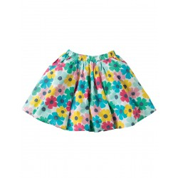 Skirt - Frugi - Holly - Poppy flowers - 5-6, 7-8y - sale