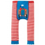 Leggings - Frugi - Knitted Leggings - Tractor - 6-12m and  1-2.  (comes up small sizing)