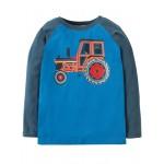 Top - Frugi - Harry - Tractor - 2-3, 3-4, 4-5, 5-6, 6-7