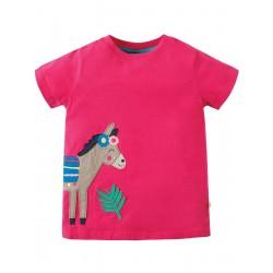Top - Frugi - Sara - Donkey - 3-4 , 4-5, 6-7, 7-8y - sale