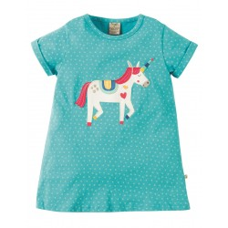Top - Frugi - Sophia - Unicorn -  2-3, 3-4, 4-5, 5-6, 7-8, 8-9y sale