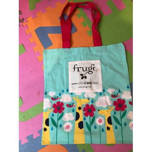 Bag - Frugi  - Tote - in The Clouds  - sale
