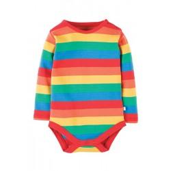 Body - Frugi - Rainbow stripe - 0-3 last one