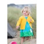 Cardi - Frugi - Milly Cardigan - Sunny Yellow -  3-4, 5-6, 6-7y - sale
