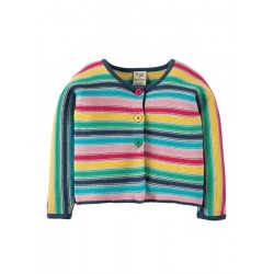 Cardi - Frugi - Ceira Cardigan - Multistripe - 6-12, 12-18m and 2-3, 3-4y  - sale