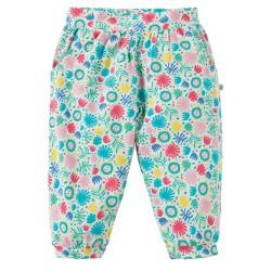 Trousers - Frugi - Hattie Harems - Jamboree Jungle - 0-3, 3-6, 12-18, 18-24m - sale - bigger girls also available