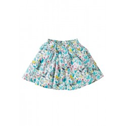 Skirt - Frugi - Holly Birdy Paradise - 3-4, 4-5, 5-6, 6-7, 7-8, 8-9, 9-10y