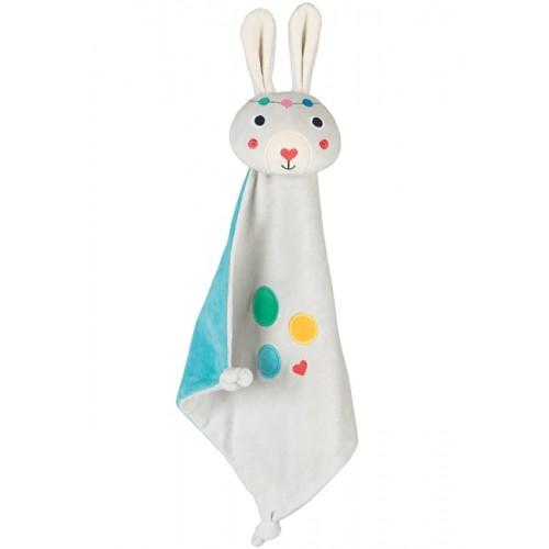 Toy - Frugi - Froogli Comforter - Radish/Rabbit