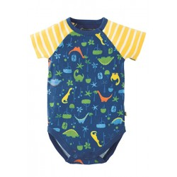 Body - Frugi - Reggie - Jurassic Jungle - 0-3, 3-6, 12-18m - SALE