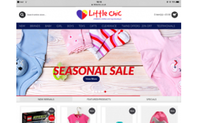 SEASONAL SALE at Little Chic