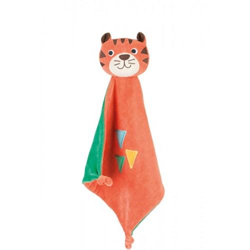 Toy - Frugi - Froogli Comforter - Ziggy Tiger - not in sale