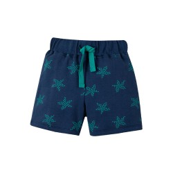 Shorts - Frugi - SS19 - Little Sammy - Starfish - 12-18, 18-24, 2-3, 3-4y