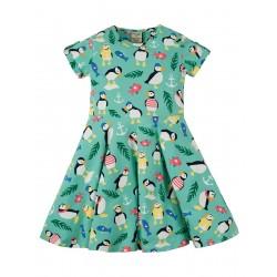 Dress - Frugi -  Skater - St Agnes Paddling Puffins - 9-10 y  - last one in sale
