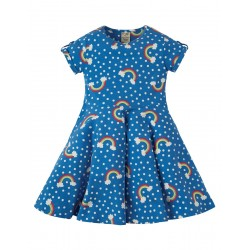 Dress - Frugi - Skater - Over The Rainbow - 9-10 y -  last one in sale