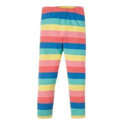 Leggings - Frugi  Libby - SS19 - drop 2 -  Bright Rainbow Stripe - 0-3, 3-6, 6-12, 12-18, 18-24m and 2-3, 3-4, 4-5, 5-6, 6-7, 7-8, 8-9, 9-10 y - New
