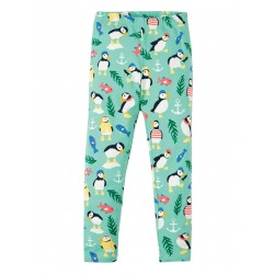 Leggings - Frugi  Libby - SS19 - St Agnes Paddling Puffins - 2-3, 3-4, 4-5, 5-6, 6-7, 7-8, 8-9 y - New