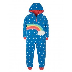 Snuggle suit - Frugi - SS19  Rainbow- 2-3, 3-4, 4-5, 5-6, 6-7, 7-8, 8-9, 9-10y - new