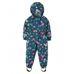Puddle Buster- Frugi - ss19 - drop 2 - Puddle suit - tractors - 1-2, 2-3, 3-4, 4-5, 5-6y - new