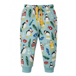 Crawlers - Frugi - SS19 - Tidal Blue Paddling Puffins -  12-18, 18-24m and 2-3,  3-4y - new