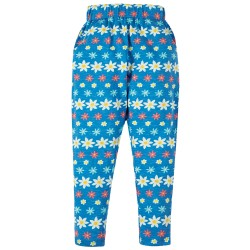 Trousers - Frugi - Gabriella Gathered - Floral  Trouser Leggings - 2-3, 3-4 y - sale