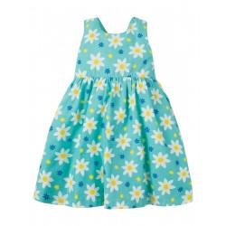 Dress - Frugi - SS19 - drop 3 - Porthcurno Party Dress - Daffodil Days - 2-3, 3-4, 4-5, 5-6, 6-7, 7-8y  new