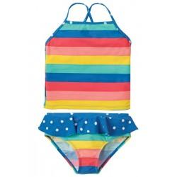 Swim Tankini set - Frugi - Bright Rainbow  2 pc - 2-3y - last item 45% off clearance sale