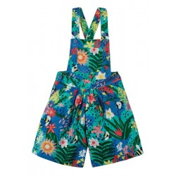 Dungarees - Frugi - SS19 - Drop 4 - Cassie Culotte Dungarees - Floral - 2-3 4-5,  6-7, 7-8, 8-9, new
