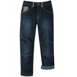 Trousers - Frugi - Jeans - Jimmy - dark wash denim -  4-5, 5-6, 6-7, 7-8, 8-9, 9-10 y - sale offer