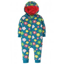 Snuggle suit - Frugi - Floral - sale promotion