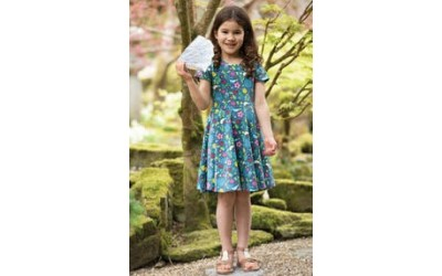 New in Frugi Twirly Skater dresses