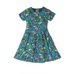 Frugi - Dress - Skater - Garden Friends - Independent shops exclusive - sale