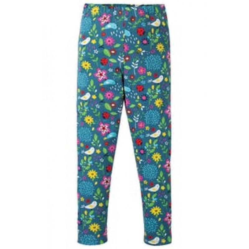 6-24M Baby Girls Turquoise Leggings Pants