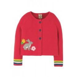 Spring and Summer - Cardigan - Frugi - Annie Rabbit  - Bunny - 7-8y - sale promotion