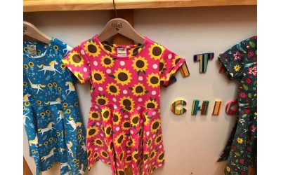 New in Frugi Twirly Skater dresses