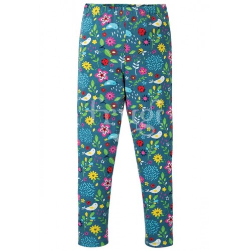 Leggings - Frugi  -  Libby - Indies independent shops exclusive -  Garden friends - 2-3y - sale