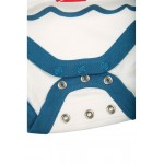 Body - Frugi - Bodhi - White Boats - 6-12m and 2-3y - last 2 in sale