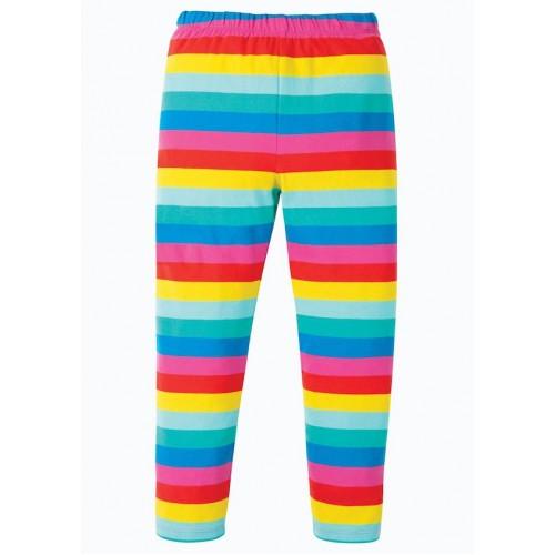 Leggings - Frugi -  Libby - Flamingo Pink stripe - sale