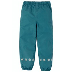 Outerwear - Frugi - PUDDLE trousers - Steely Blue - sale