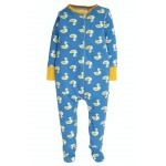 Babygrow Set - Frugi - Puddle Ducks-  Baby Gift Set - Puddle Ducks  - Babygrow with hat  and body in a bag  - perfect gift  for a newborn  worth £37 - available £25